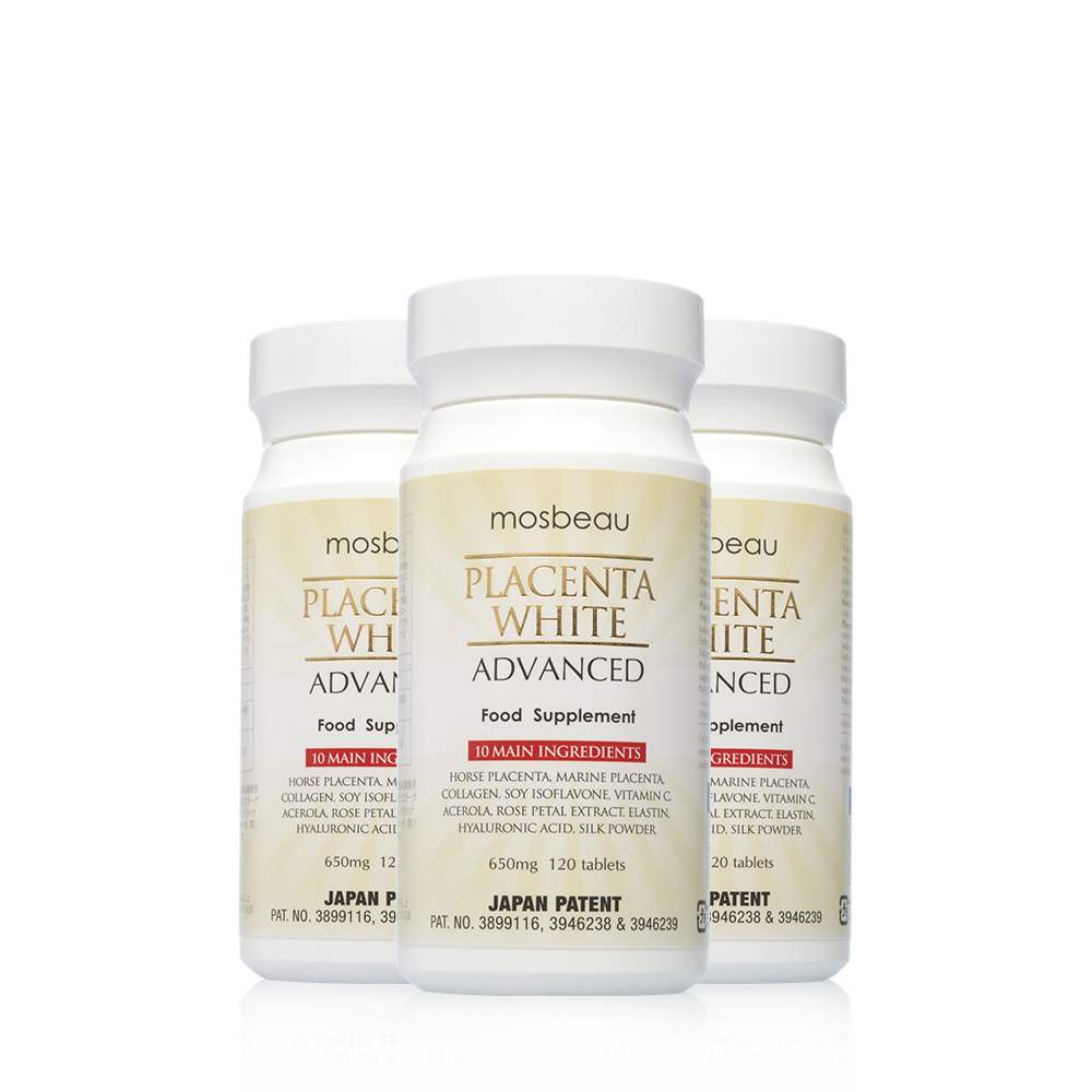 PLACENTA WHITE ADVANCED SUPPLEMENT (3 Bottles)