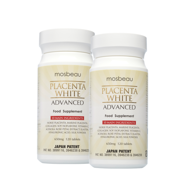 PLACENTA WHITE ADVANCED SUPPLEMENT (2 Bottles)