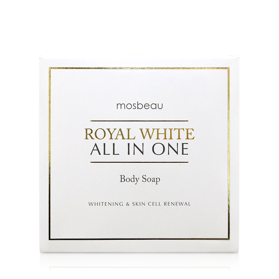 ROYAL WHITE ALL-IN-ONE BODY SOAP